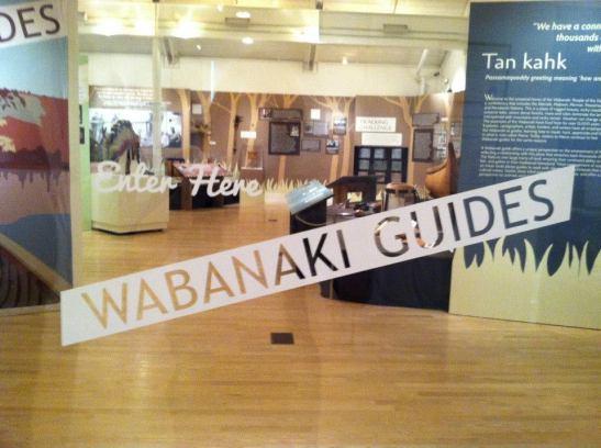 Porcupine Design Abbe Museum Wabanaki Guides Exhibit Graphics