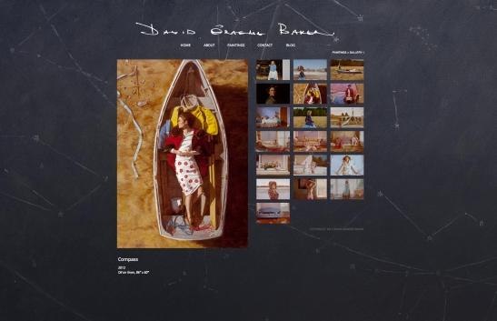 Porcupine Design David Graeme Baker Website art painting Graphic