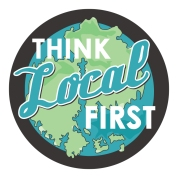 Porcupine Design think Local first logo Bar Harbor Merchants Association Graphics
