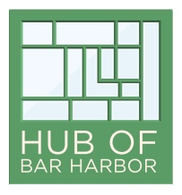 Hub of Bar Harbor Logo | Porcupine Design