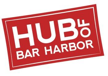 Hub of Bar Harbor Logo   Porcupine Design